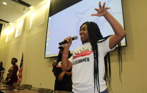 Delta sigma theta leader excites the audience with new opportunity