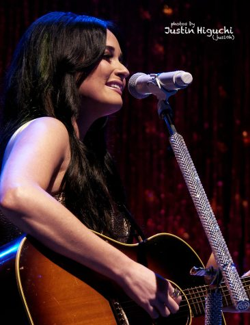 Kacey Musgraves serenades audiences with her country twang and songwriting.
