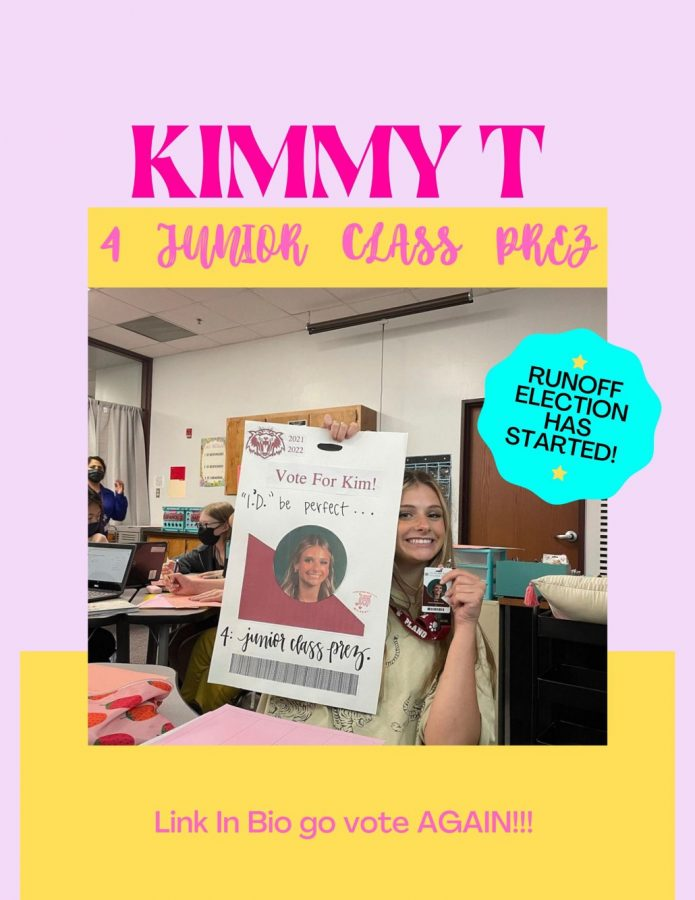 Photo of Kim Tortens online campaign post, courtorsy of Kim Torten